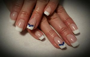 French Gels with a hint of Blue